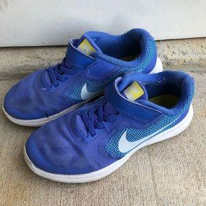 Nike Revolution 3 Medium Blue Running Shoes